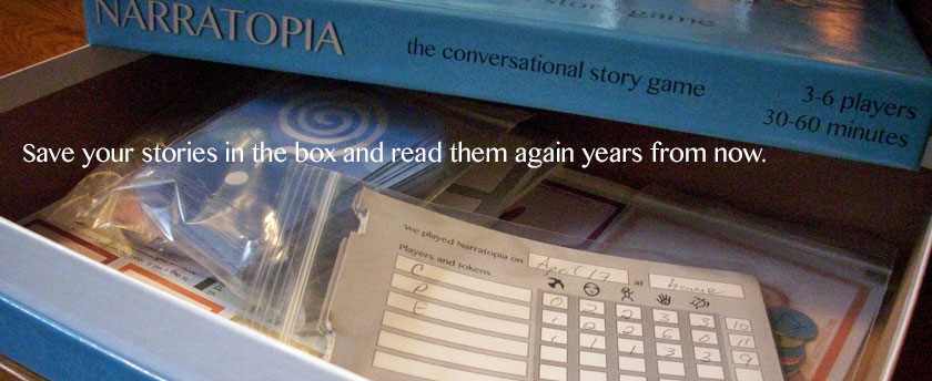 Save your stories in the box and read them again years from now.